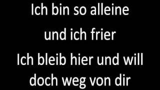 LaFee - Weg von dir - mit Lyrics