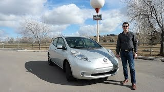2013 Nissan Leaf Review - Here's Why It Is One Of The Most UNIQUE Cars From The 2010's