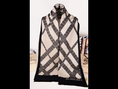 2015 Fall & Winter Burberry  new product Burberry Scarf review