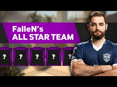 MIBR FalleN's All-Star Counter-Strike Team