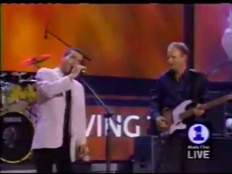 Sting & Cheb Mami Live - NetAid