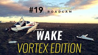 Roadcam #19: Student Pilot vs. UH-60 Black Hawk Wake Vortex
