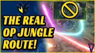 The REAL Best Jungle Route To Hard Carry (League of Legends)