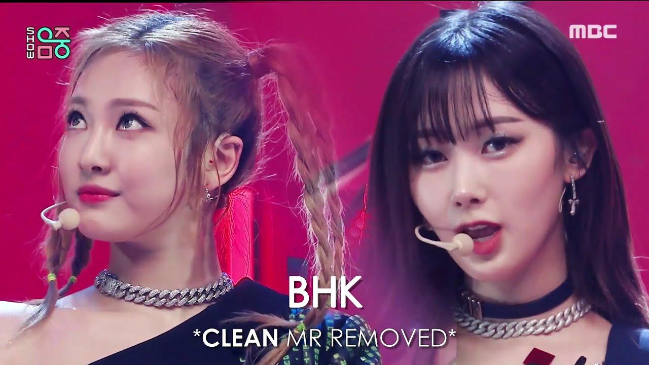 [CLEAN MR Removed] 211016 aespa (에스파) Savage | Show! Music Core MR제거
