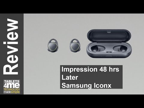 Samsung Iconx Fitness Earbuds Impression after 24 Hours