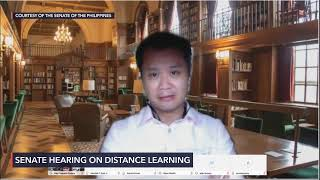 Senate hearing on distance learning