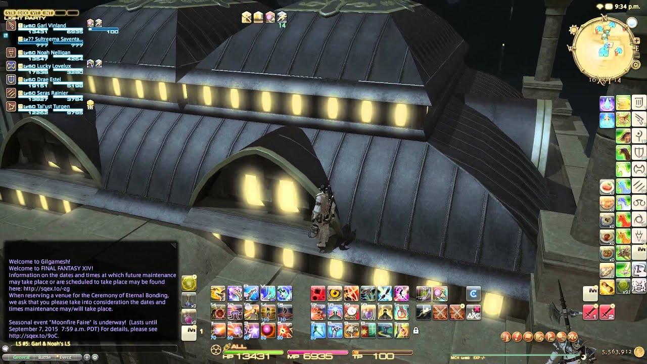 Final Fantasy XIV Rooftop Glitch by Team GitGud
