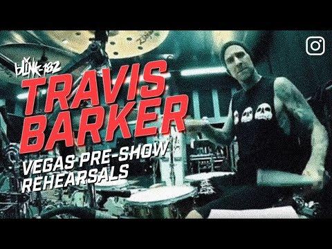 Travis Barker Vegas pre-show drum practice | Blink-182 Rehearseal | Mp3