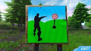 Wailing Woods, Retail Row & Paradise Palms Shooting Gallery Locations Guide - Fortnite Battle Royale
