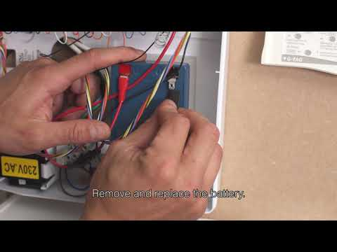 How To Change Gardtec (Gtag) Alarm Battery