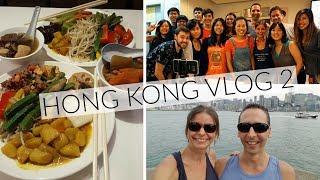 HONG KONG Vlog 2 - Food, City, Meet Up + more
