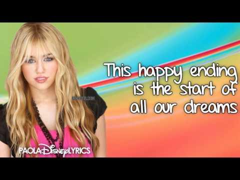 Hannah Montana - Wherever I Go (Lyrics Video) HD