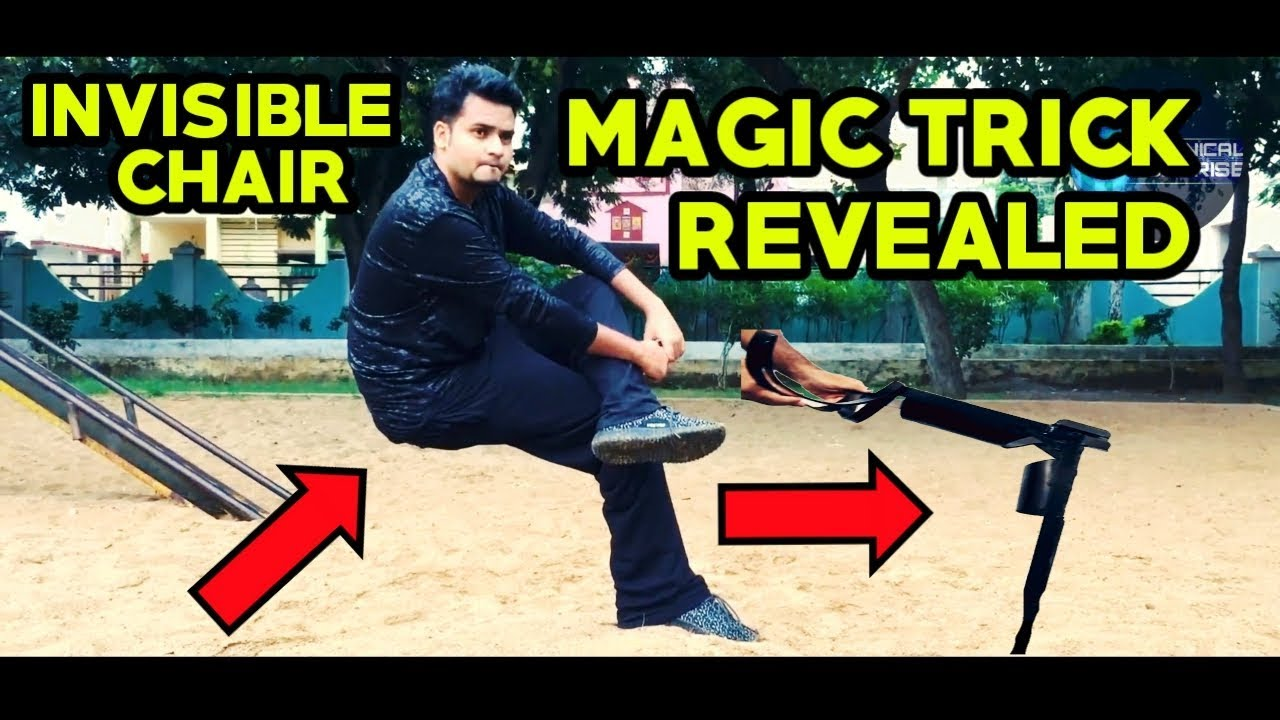INVISIBLE CHAIR MAGIC TRICK REVEALED INDIA [In Hindi]