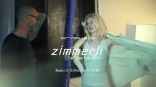 Zimmerli making-of Spring/Summer 2016 collection