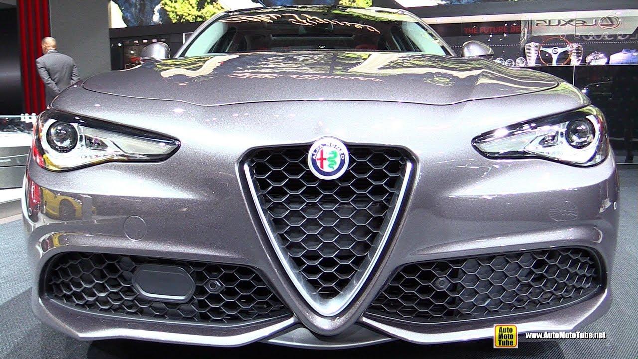 2017 Alfa Romeo Giulia Ti - Exterior and Interior Walkaround - 2016 ...