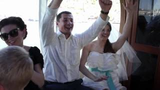 Балаклавский Эдем. Выездная регистрация и свадебная прогулка на катерах