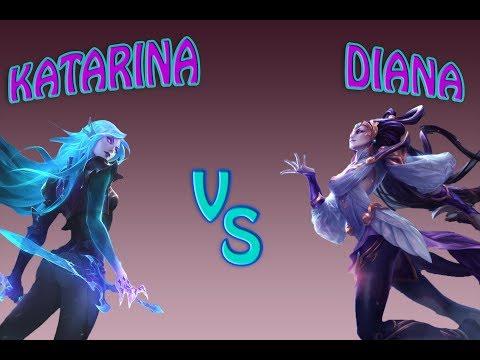 Lai Sensei  Katarina vs Diana Gold ELOS8