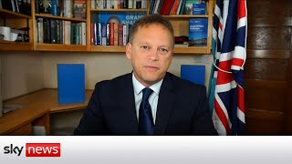 Grant Shapps on COVID travel tests, the Queen and supply issues