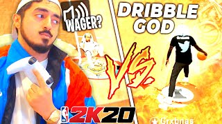I RETURNED TO 2K20 TO WAGER A LEGEND DRIBBLE GOD on the 1v1 COURT...