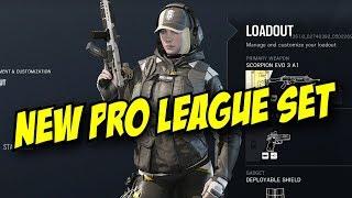 Rainbow Six Siege New Pro League Gold Set! Blackbeard, Jackal, Caveira Ela