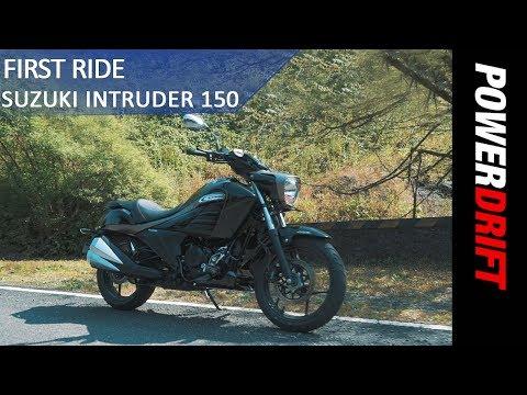Suzuki Intruder 150 : First Ride : PowerDrift