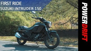Suzuki Intruder 150 : First Ride : PowerDrift