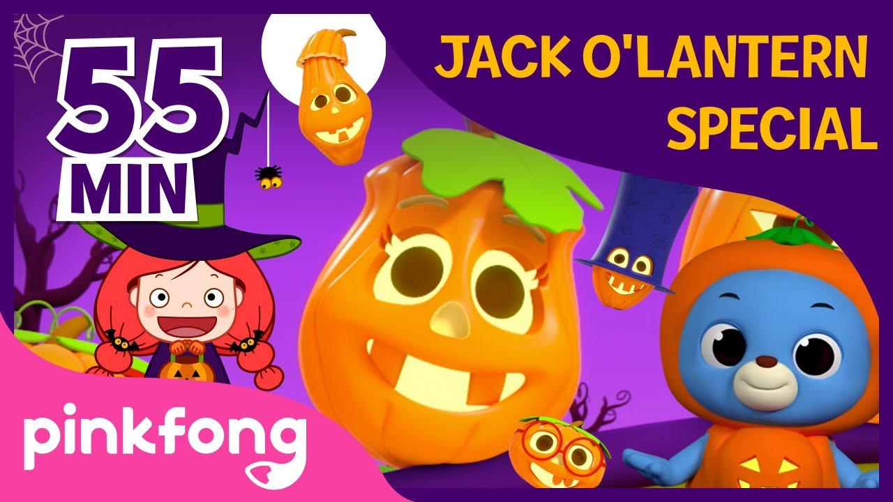 Halloween Pumpkin Special | +Compilation | Halloween Songs | Pinkfong Songs for Children