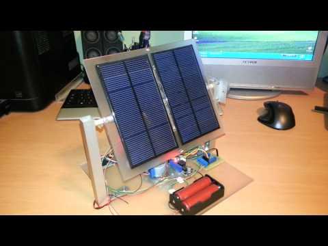 Nachlaufsteuerung Verbessert Eigenbau Solar Tracker Doovi