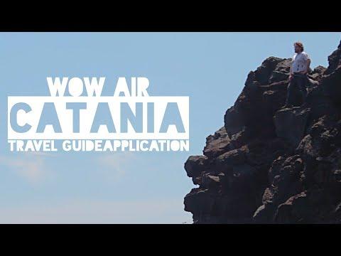 WOW Air Travel Guide Application - CATANIA