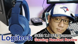 Logitech G433 7.1 DTS Surround Gaming Headset Review