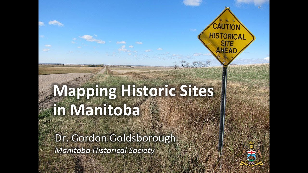 Some cool mapping information about Manitoba Historic Sites.