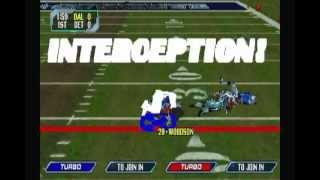 NFL Blitz 2000 - Ridiculous Highlight Reel #1