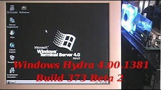 Windows NT Terminal Server [Hydra 4.00.1381 Build 373 Beta 2]