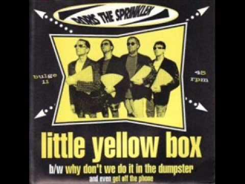 Boris The Sprinkler Little Yellow Box