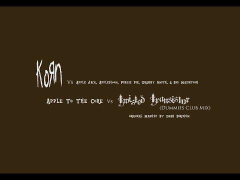 Korn Vs AJ, AB, Pinkie Pie, Granny Smith & Big Mac - Apple To The Core Vs Twisted Transistor