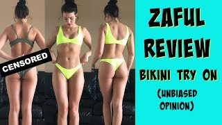 ZAFUL REVIEW | Bikini Try On & Product Opinion  (not sponsored)