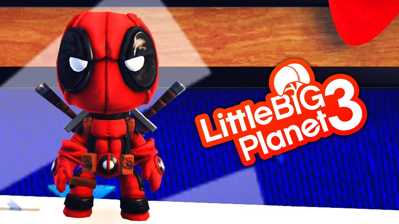 how to make deadpool in little big planet 3