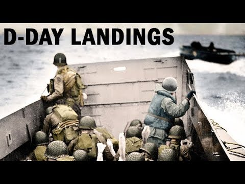 D-Day Landings: Beachhead to Berlin | WW2 Documentary in Color | 1944