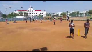 Previous over in street cricket satyabama university