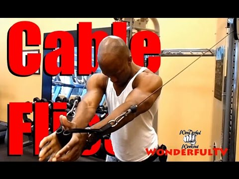 Ali's Wonderful Cable flies Workout (#SelfFitnessTeam)