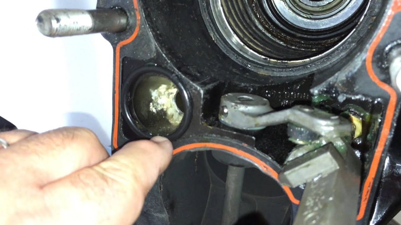Mercruiser Bayliner Gimbal Amp Bellow Repair Youtube