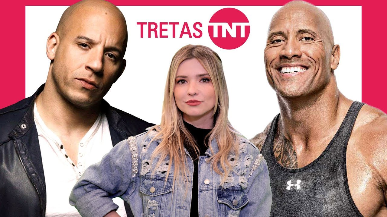 THE ROCK X VIN DIESEL: NÃO TÃO VELOZES, MAS MUITO FURIOSOS | Tretas TNT
