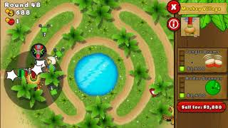 Gambar cover BTD5 Mobile - New Beginner Map - Oasis - NALPS Series - Impoppable