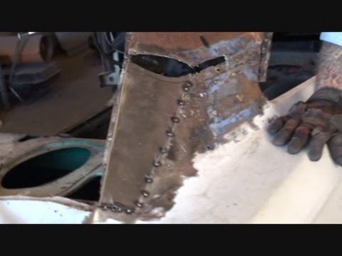 Rust Repair Made EasyCar Roof ReplacementPart 13Using