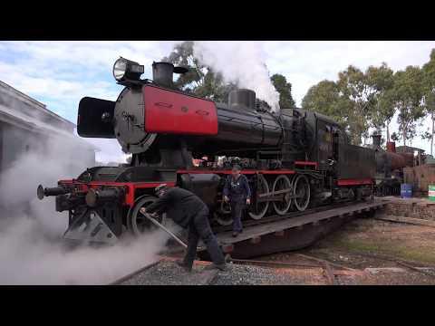 Victorian Goldfields Railway - Queen's Birthday Weekend June 2017 Part 6 (4K)