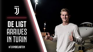 MATTHIJS DE LIGT ARRIVES IN TURIN!