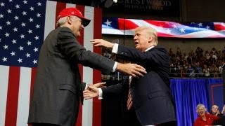 Trump: Luther Strange is determined to drain the swamp