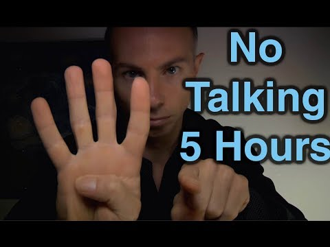 ASMR 5 Hours of No Talking Tapping & More Sounds