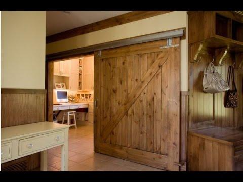 Barn Doors for Homes - YouTube