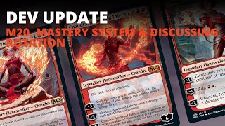MTG Arena | Developer Update: M20, Mastery System & Discussing Rotation
